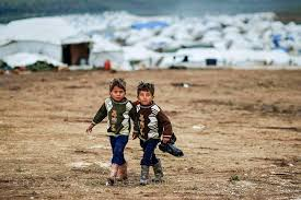 children @ refugee camp